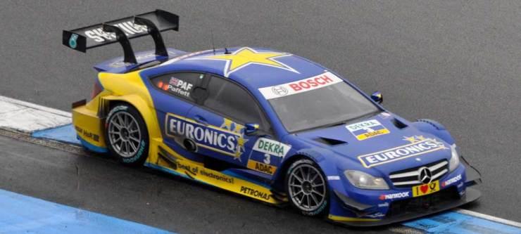 Als Sechster konnte Gary Paffet im Euronics Mercedes AMG C-Coupe die Saison beenden