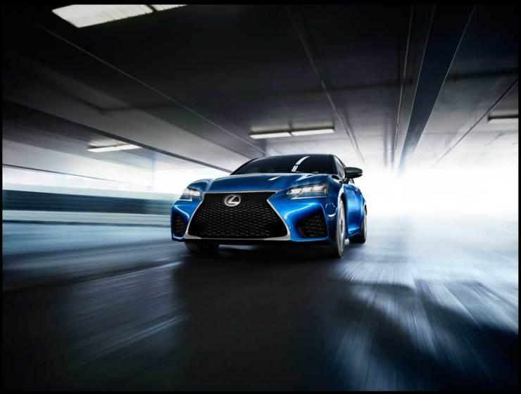 Lexus GSF front totale