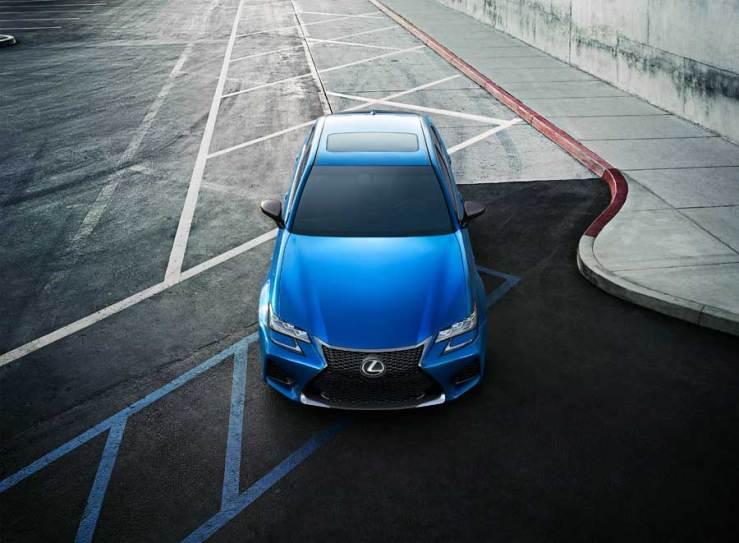Lexus GSF front von oben