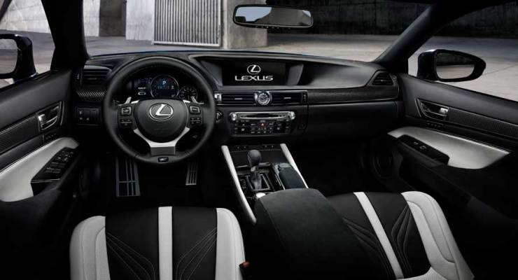Lexus GSF Innenraum