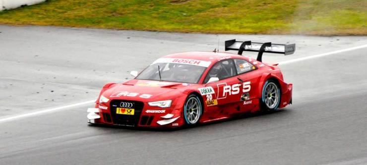 Siebzehnter wurde Miguel Molina im Audi RS 5 DTM, Team Phoenix