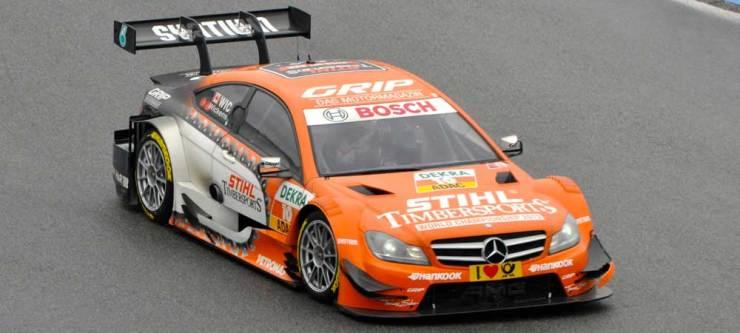 Fünfter wurde Robert Wickens im DTM Mercedes AMG C-Coupe, Team STIHL
