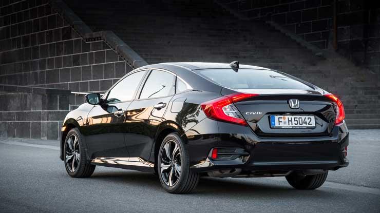 Die neue Honda Civic Limousine – Nicht (mehr) kompakt