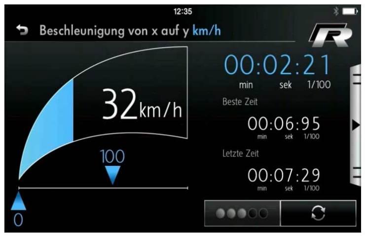 raceapp-beschleunigungsmessung
