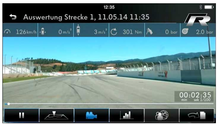 raceapp-streckenaufzeichnung