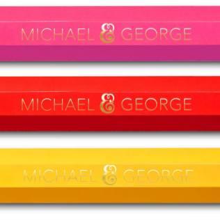 Michael and George Bleistift Lampe Lineal Geodreieck Uhr Spiegel Interior Design