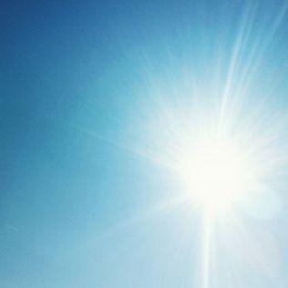 Wo sind all die wolken hinnewLinenewLinesonne hitze hot himmel blau sky Blue blu