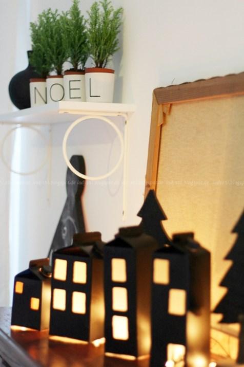 Lichthäuser aus Milchtüte4
