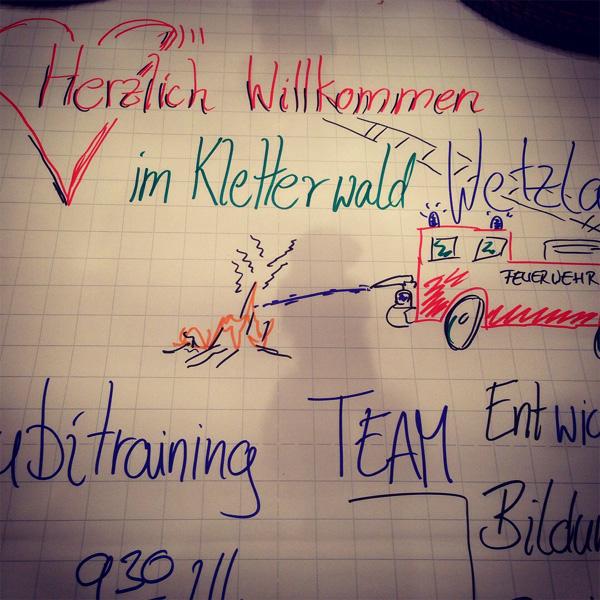 Azubitraining Berufsfeuerwehr Frankfurt