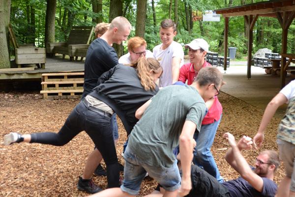 Teambuilding außerhalb der Komfortzone