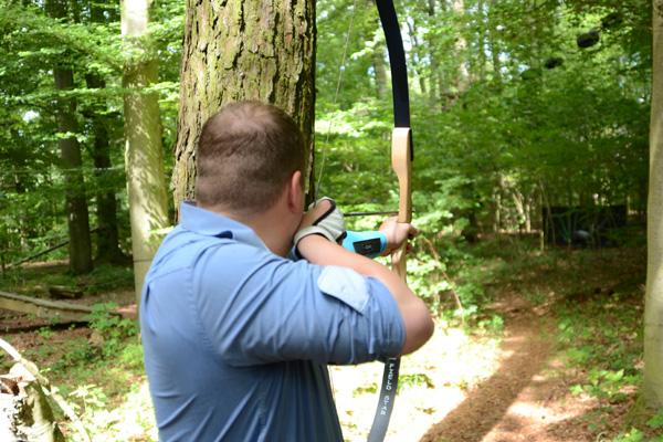 Bogenschießen auf dem 3D Bogenparcours