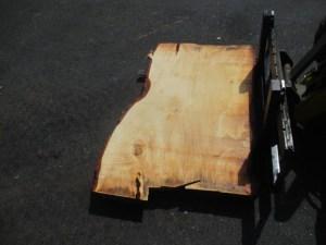 Tischplatte nach mass Kastanie B-00208
