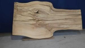 Tischplatte aus Massivholz Linde C/W 002