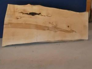 Tischplatte aus Massivholz Kastanie C/W 029