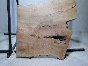 Tischplatte aus Massivholz Platane C/W 073