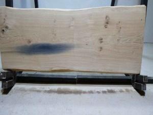 Tischplatte aus Massivholz Eiche C/W 085