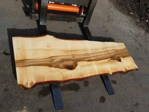Tischplatte nach mass Kastanie B-00348