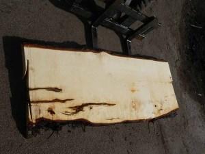 Tischplatte nach mass Kastanie B-00349