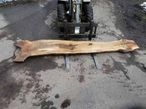 Tischplatte nach mass Nussbaum B-00372