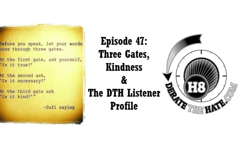 Derate The Hate Podcast Episode 47