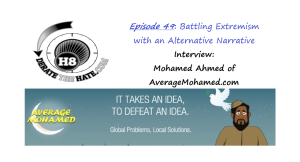 Derate the Hate interview with Average Mohamed