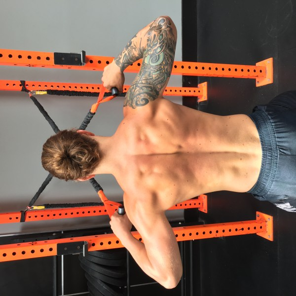 Crossover Symmetry Shoulder Exercises - Year of Clean Water