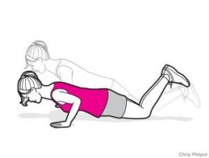 mom work workout exercise health