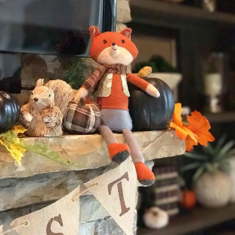 Fall Home Tour: Autumn In The Den And Kitchen