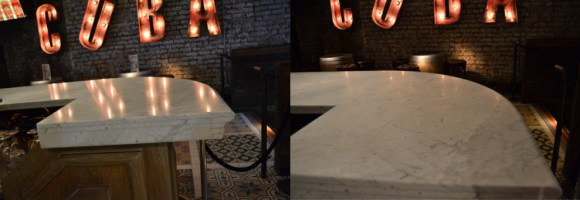 Revolucion De Cuba Bar Top Before and After Manchester