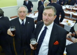 SGC Officers and beer 1