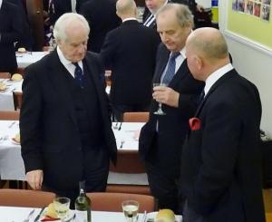 Three wise men discuss the test match
