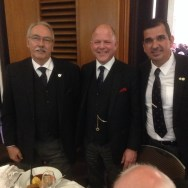 Ditto with our Grand Superintendent