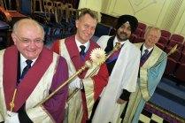 Paul, Rob, Ranjit and John