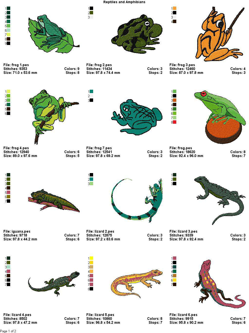 Name 10 Amphibians Gallery