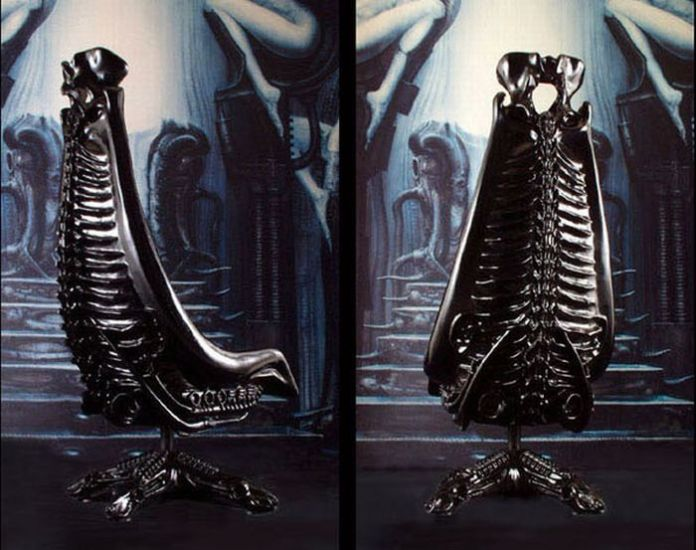 HR Giger Harkonnen Chair