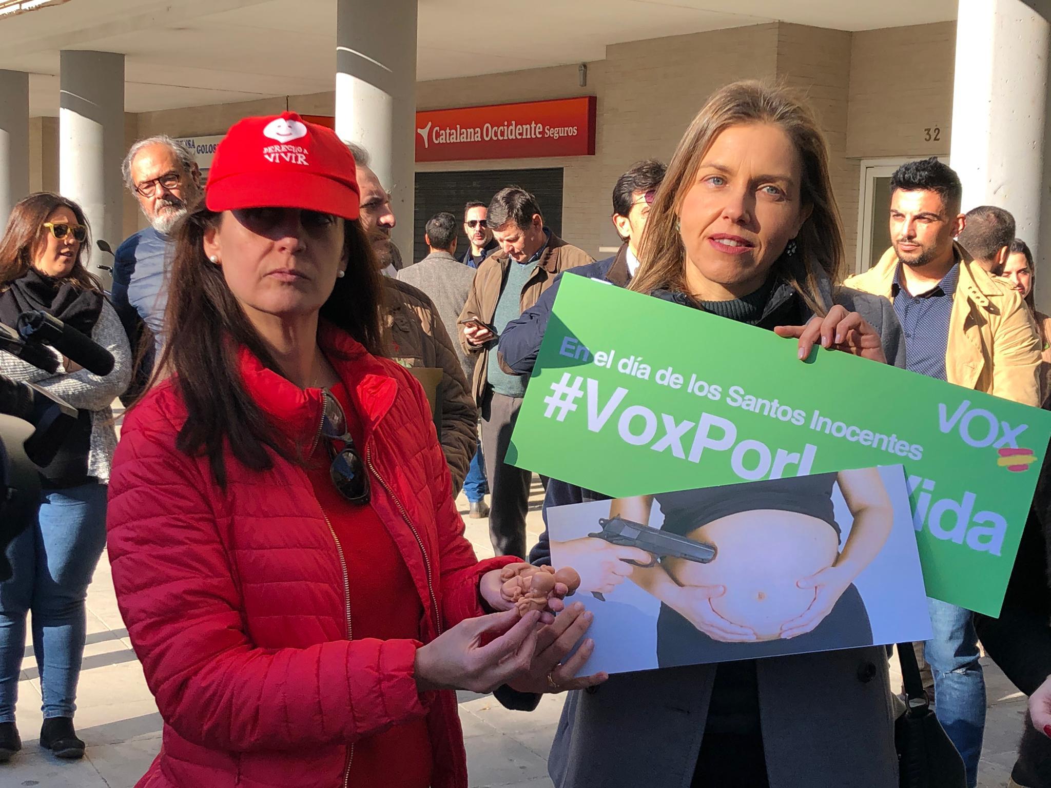 Derecho a Vivir se suma a Vox Sevilla para recordar a los inocentes abortados