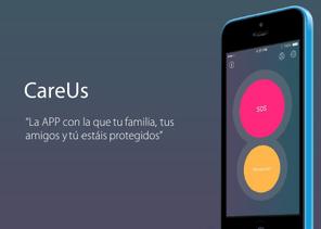 CareUs, la aplicación para pedir socorro en caso de emergencia.