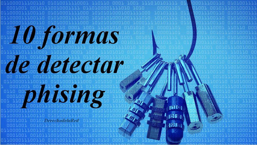 Diez formas de detectar 'phishing'.