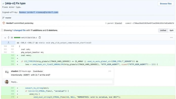 PHP hackeado