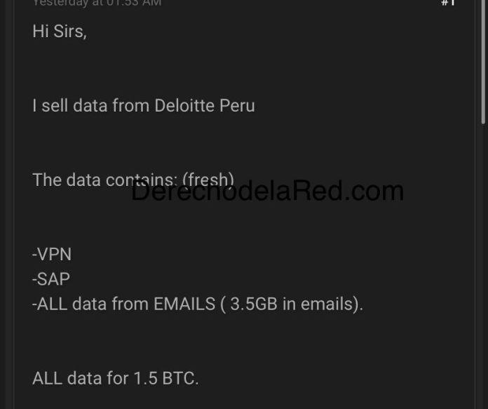 Datos de Deloitte
