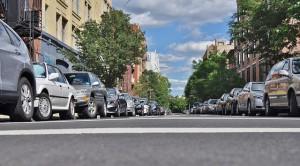 aparcamiento doble fila