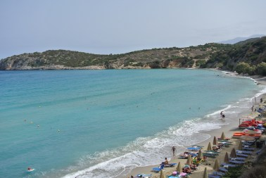 Playa en Creta