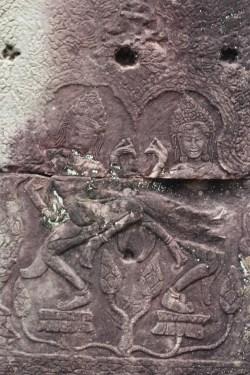 Apsaras o ninfas camboyanas