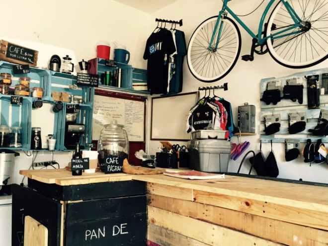 Tulum coffee bike