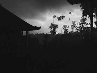 Ubud Bali rain