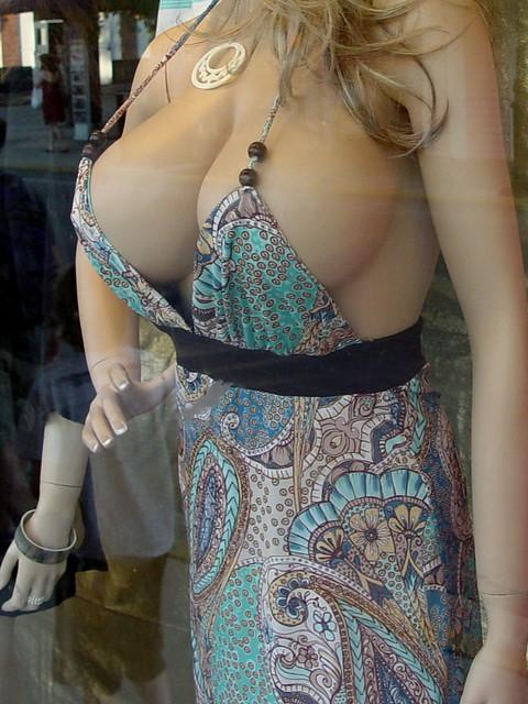 Crazy Mannequin Boobs  derekbrooxcom