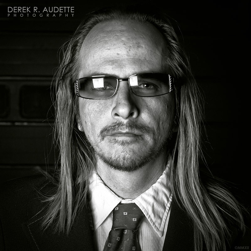 """Portrait of Man Wearing Glasses"" - Photography by Derek R. Audette"