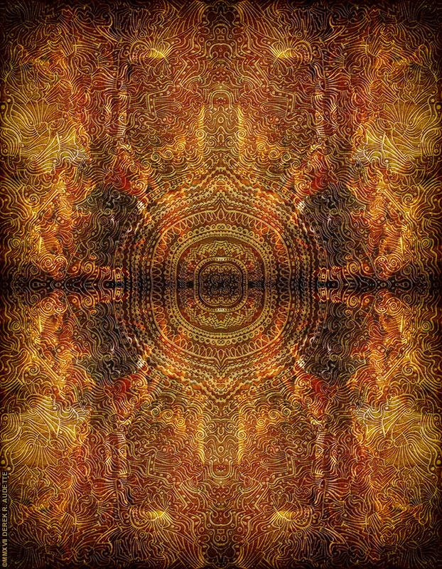 """Below the Sycamore of Al-Maṭariyyah"" Digitial art by Derek R. Audette"