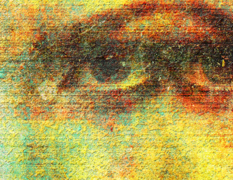 We All Have Laid Aside Disguise but You - Closeup detail 1:1