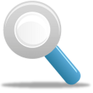 Magnifying Glass Icon 128x128pxl